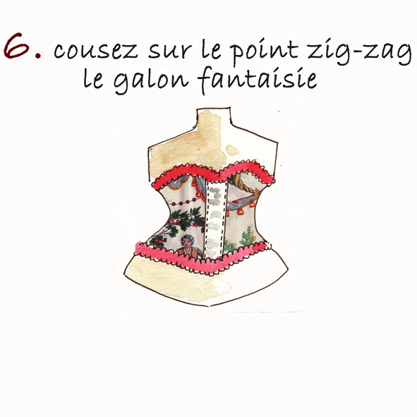 tuto porte-clé corset 3