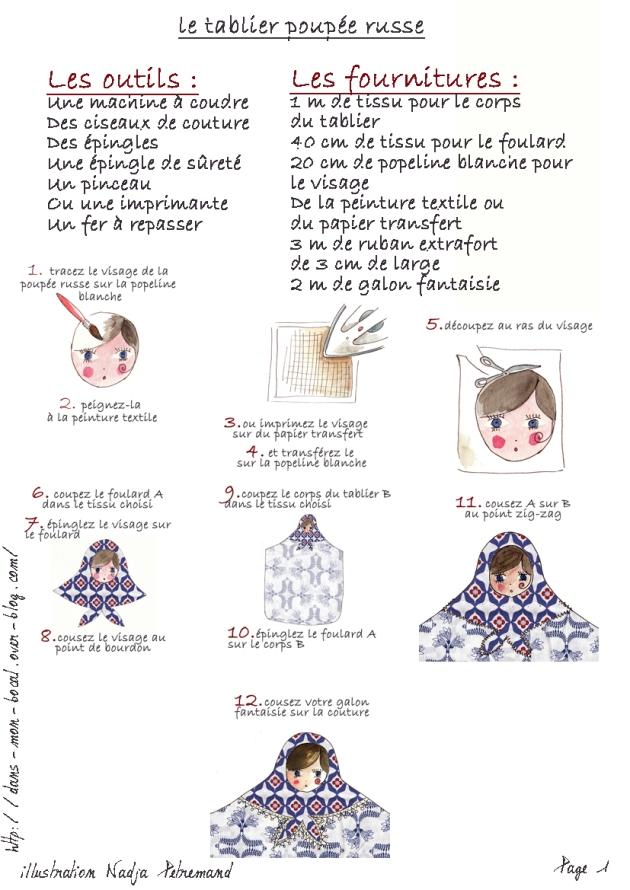 tuto tablier poupée russe page 1