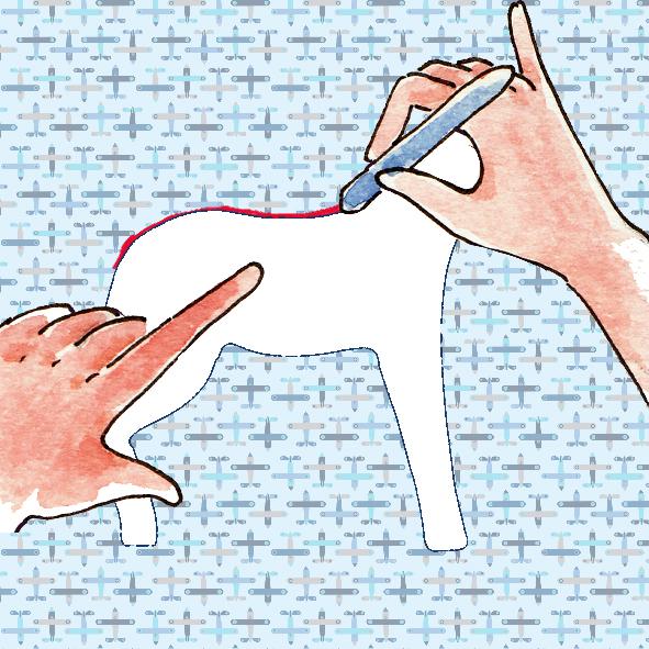 tuto doudou cheval 1