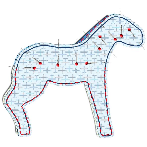tuto doudou cheval 10