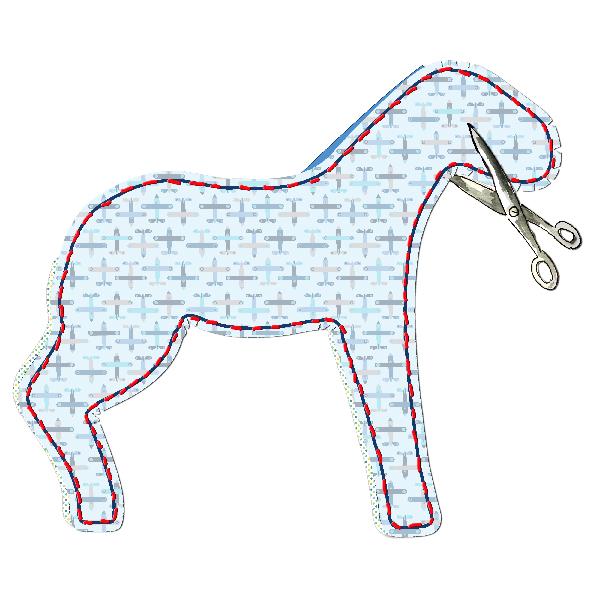 tuto doudou cheval 12