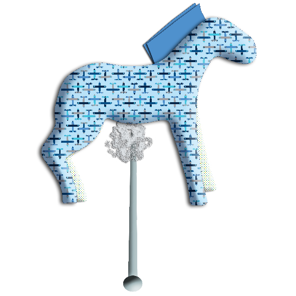tuto doudou cheval 13