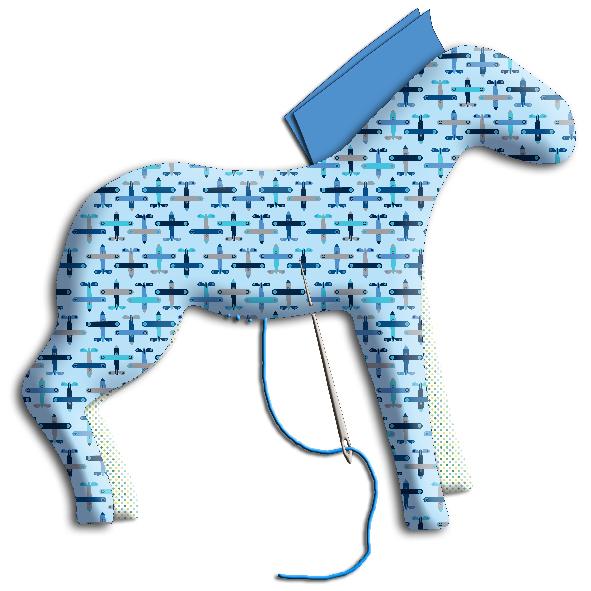 tuto doudou cheval 14