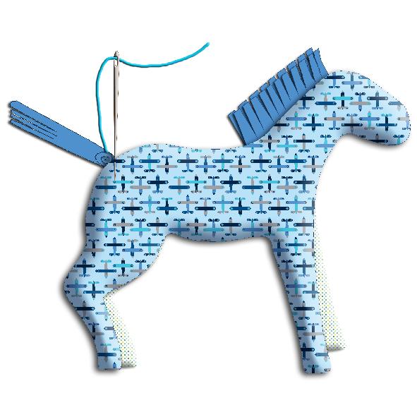 tuto doudou cheval 17