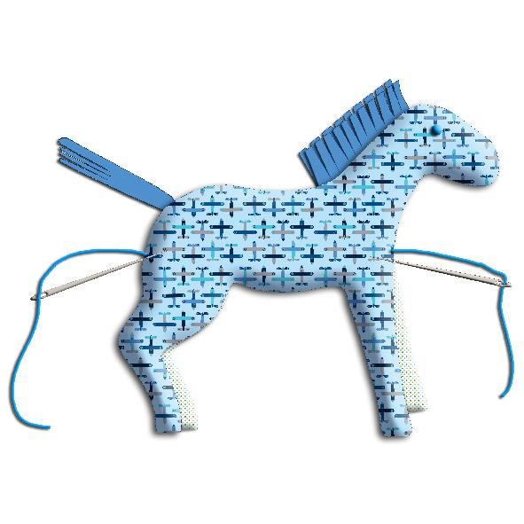 tuto doudou cheval 18