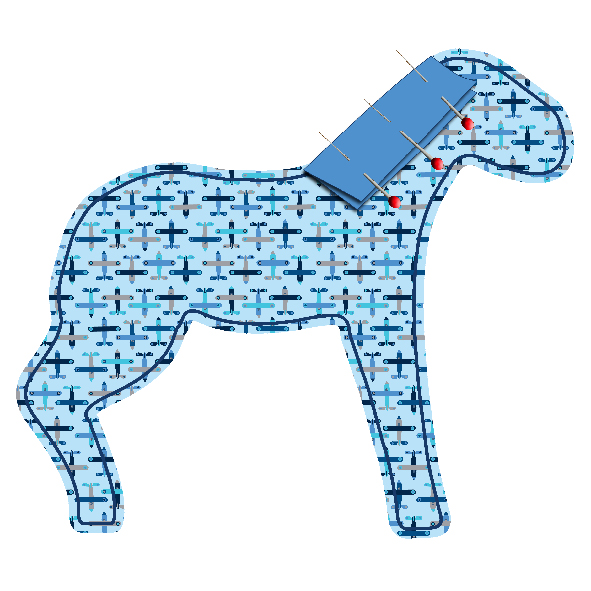 tuto doudou cheval 4
