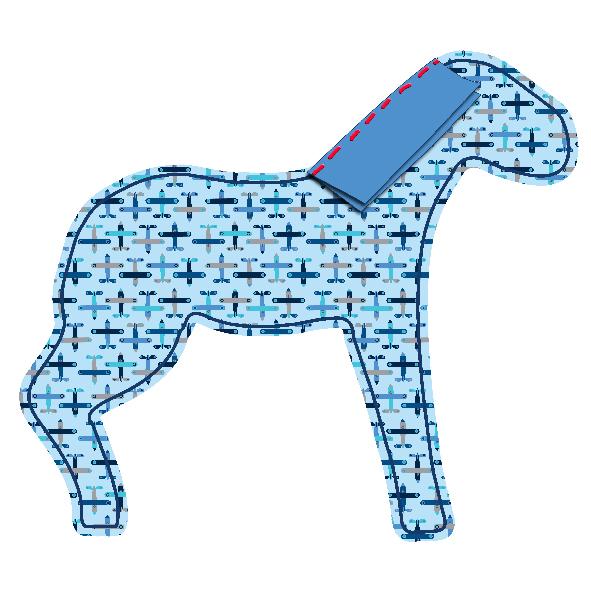 tuto doudou cheval 5