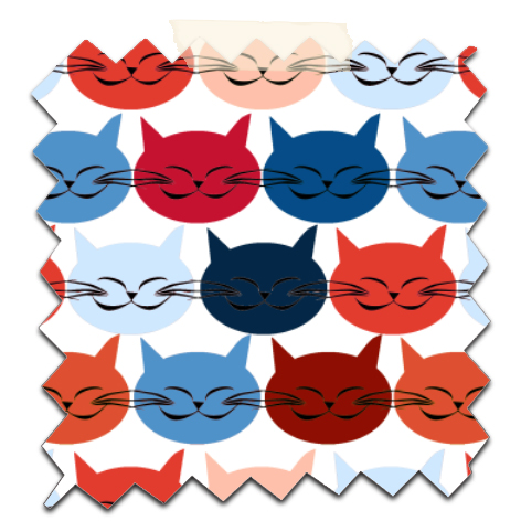 free printable scrapbooking paper cat's 1