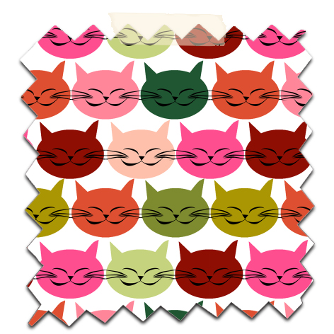 free printable scrapbooking paper cat's 3