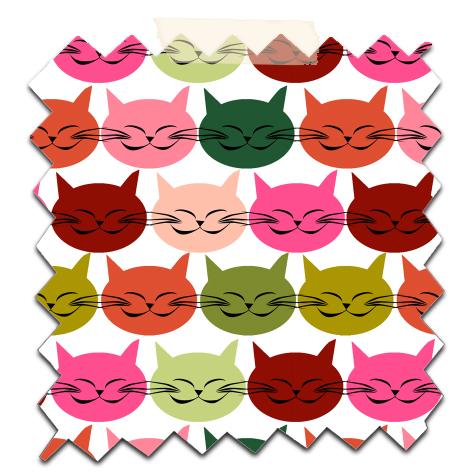 free printable scrapbooking paper cat's 3