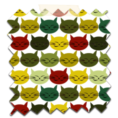 free printable scrapbooking paper cat's 5