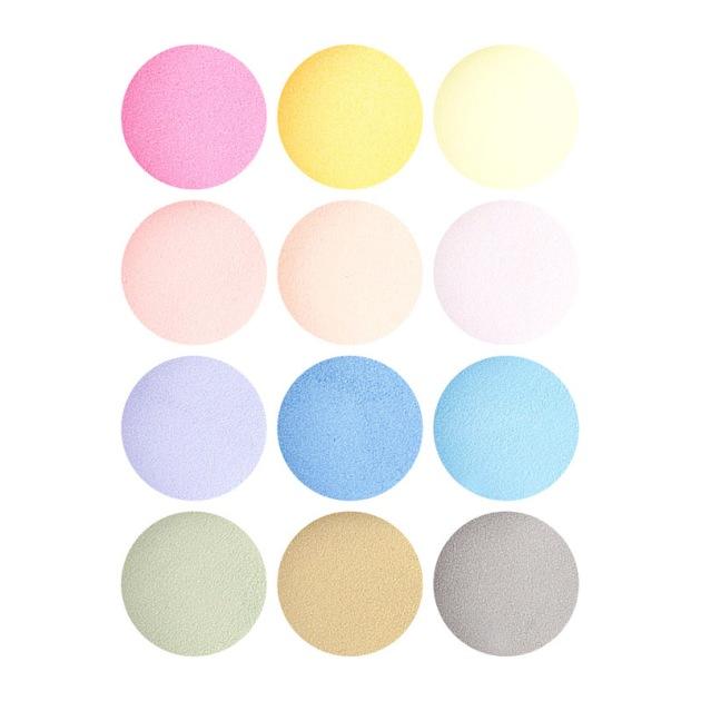couleurs pastelles