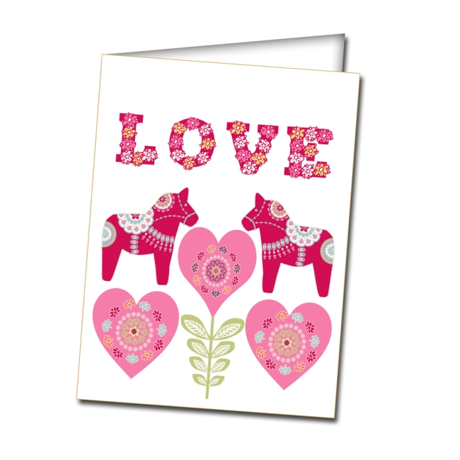 free printable envelope valentine card 4