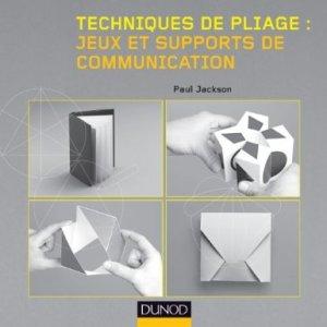 technique de pliage jeux et supports de communication