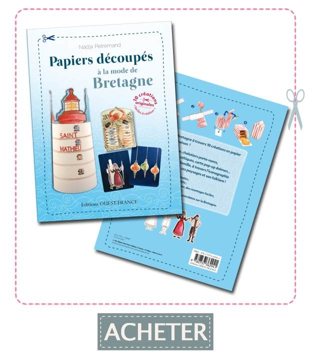 ACHETER LIVRE PAPIER DECOUPES A LA MODE DE BRETAGNE