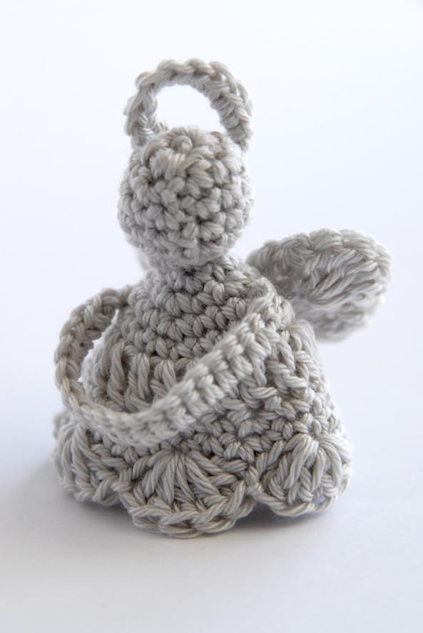 ange crocheté en coton mercerisé 1
