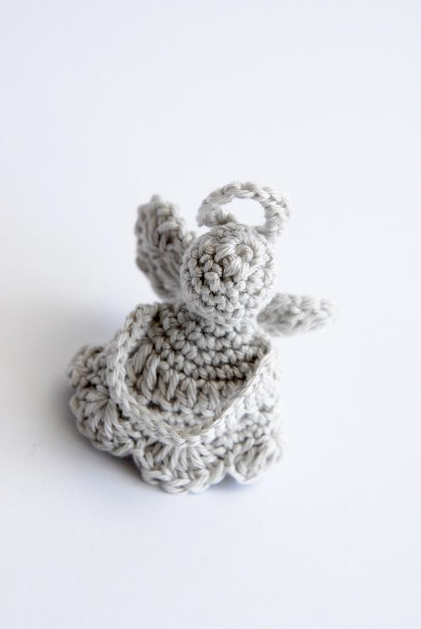 ange crocheté en coton mercerisé 2