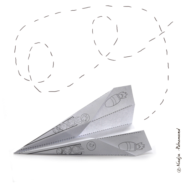 avion en papier 1