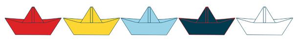 bateau en papier illustration