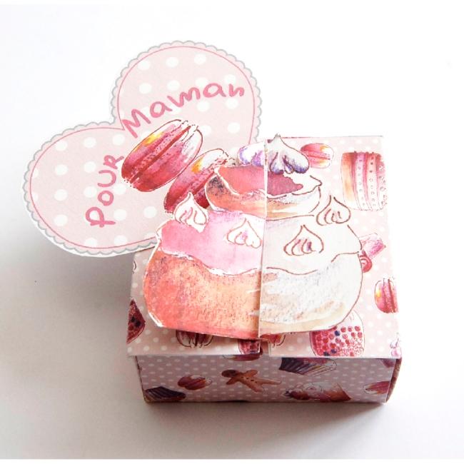 boite cadeau choux à la crème