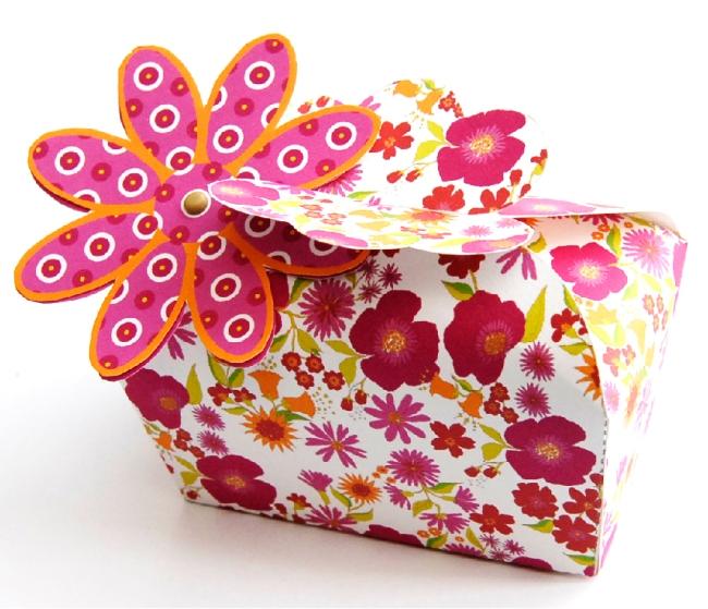 boite cadeau coffret fleurie à imprimer gratuitement 1