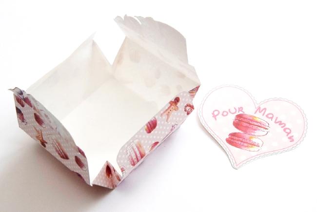 boite cadeau fête des mère à imprimer