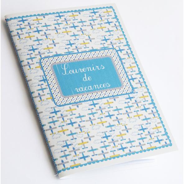 cahier de souvenir reliure cousue à imprimer gratuitement 2