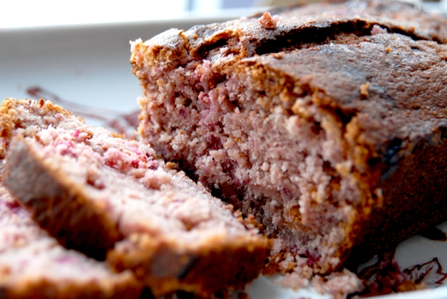 cake aux framboises