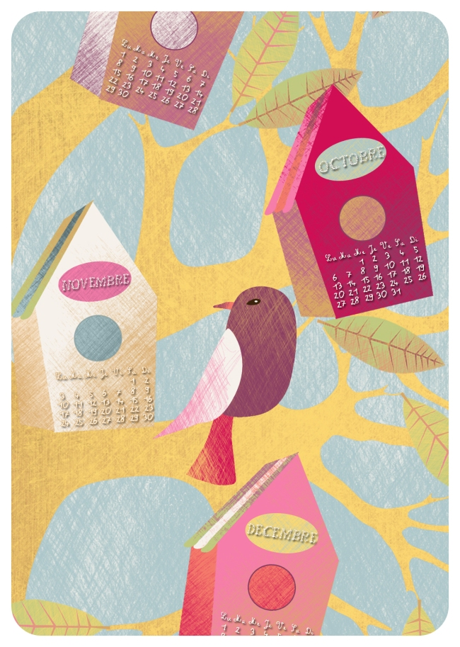 calendar 2014 happy birds detail 3 copie