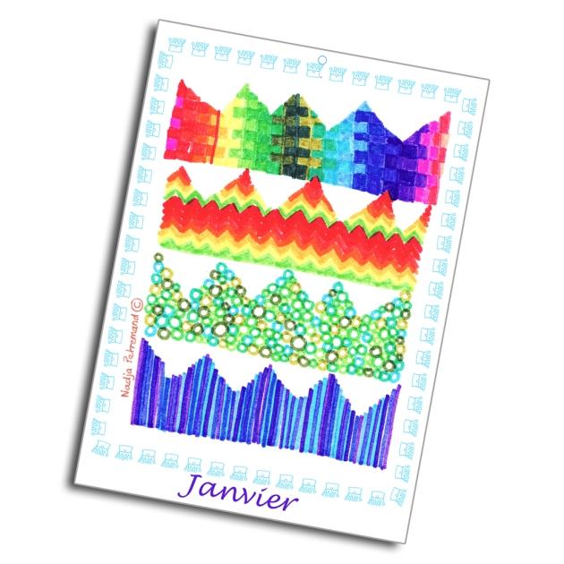 calendrier 2012 2013 à imprimer gratuitement janvier illustration 1- free printable calendar 2012 2013