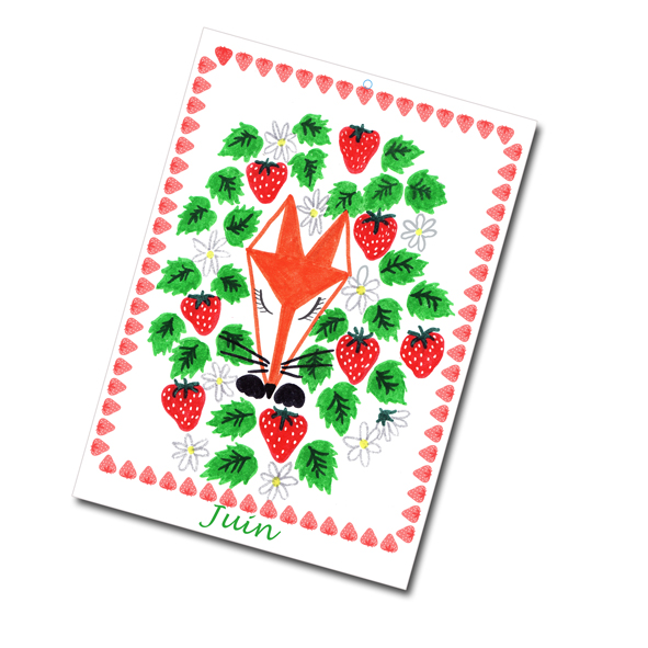 calendrier 2012 2013 à imprimer gratuitement juin illustration- free printable calendar 2012 2013