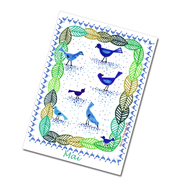 calendrier 2012 2013 à imprimer gratuitement mai illustration- free printable calendar 2012 2013
