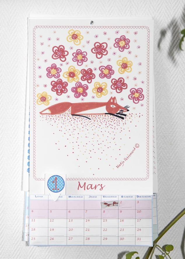calendrier 2012 2013 à imprimer gratuitement mars