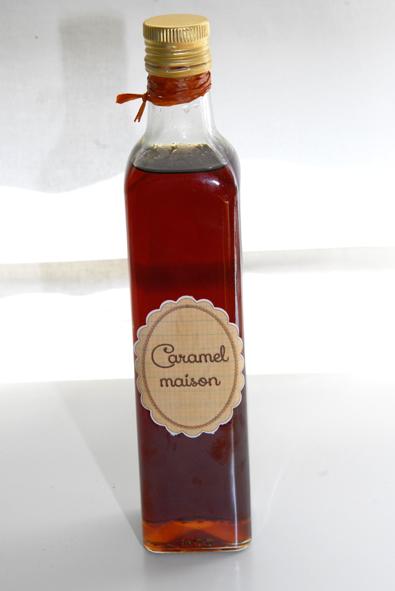 caramel liquide fait maison 1