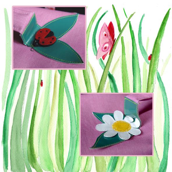 cartable fleuri détail2