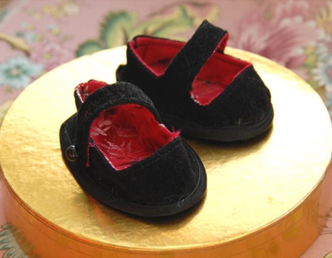 chausson noir