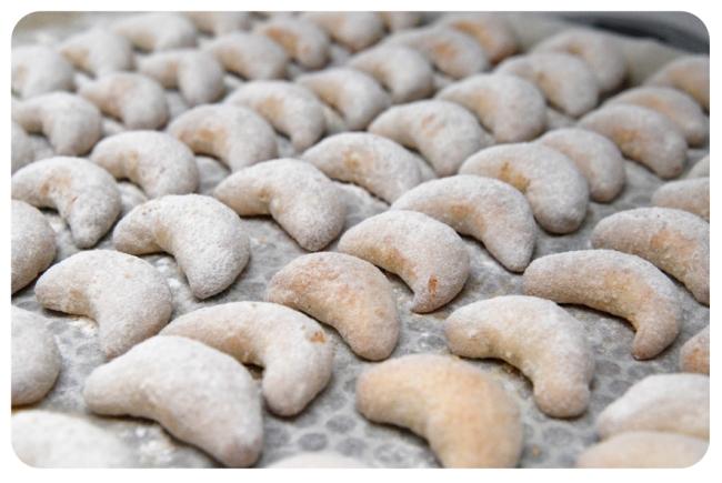 croissants aux amandes de noël 1