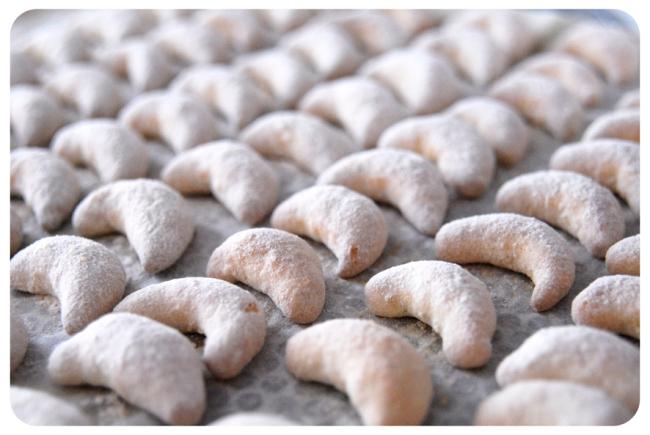 croissants aux amandes de noël 3