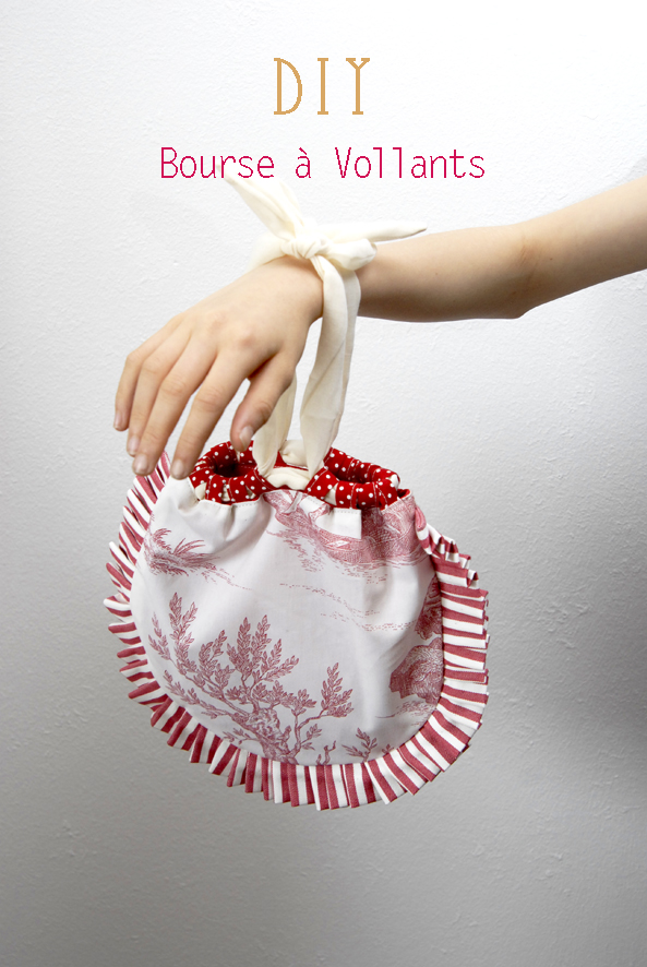 DIY bourse à volants