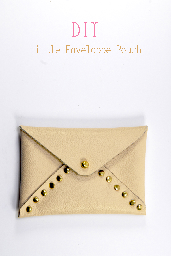 DIY little envelope pouch 1