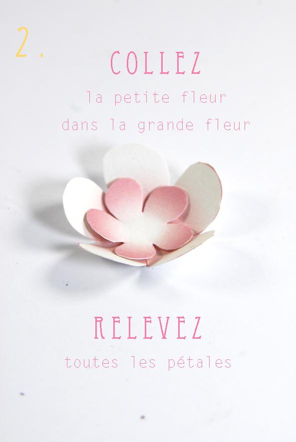 DIY paper flower fleur en papier 3
