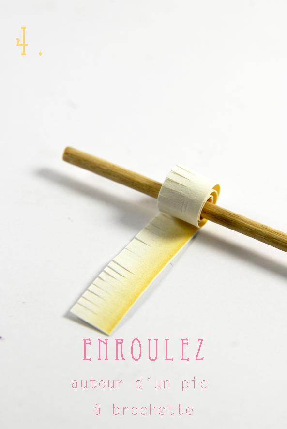 DIY paper flower fleur en papier 5
