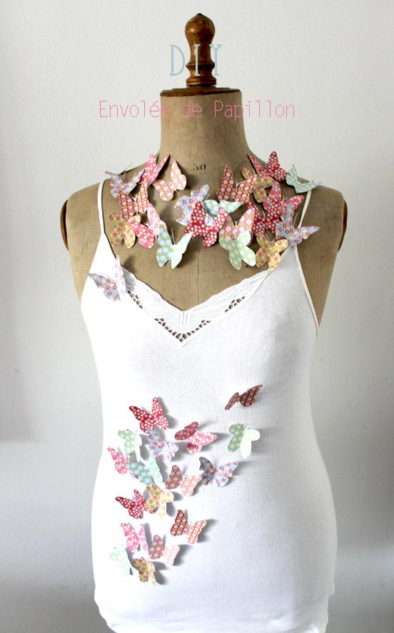 DIY papillons à imprimer pour décoration éphémère