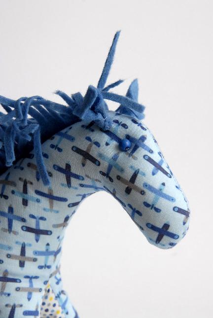 doudou cheval détail