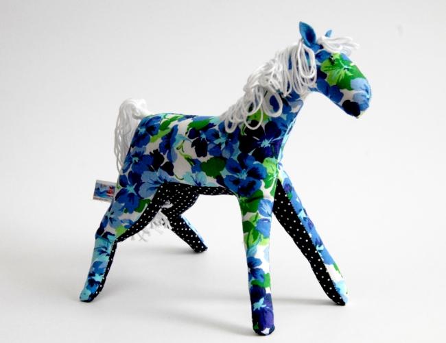 doudou cheval fleur 1