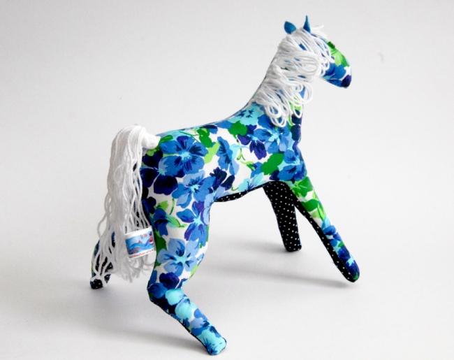 doudou cheval fleur 2