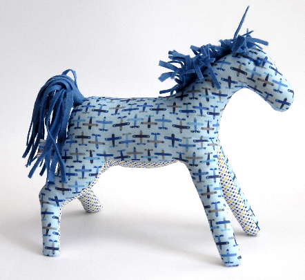 doudou cheval profil