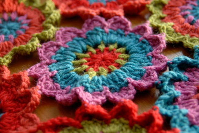 echarpe fleur au crochet 3