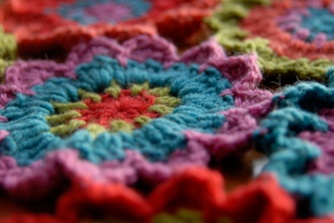 echarpe fleur au crochet 4