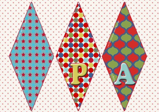 fanions de papier à imprimer gratuitement 2